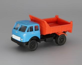(Уценка!) МАЗ-503А самосвал, голубой / оранжевый