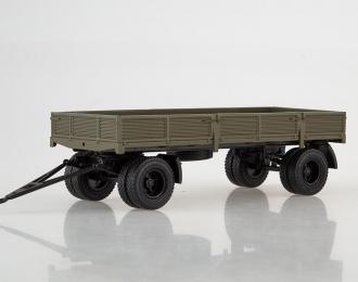 Прицеп ГКБ-8350 бортовой, хаки