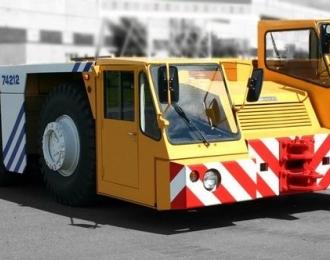 Сборная модель Аэродромный тягач БелАЗ-7421