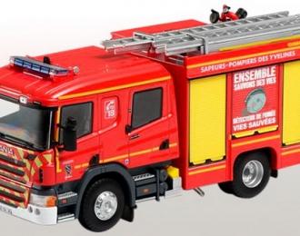 SCANIA DOUBLE CABINE CP31 FPT GIMAEX SDIS 78 (пожарный) 2016