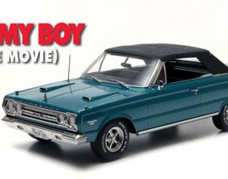 "PLYMOUTH Belvedere GTX Convertible из к/ф ""Увалень Томми"" (1967), green"