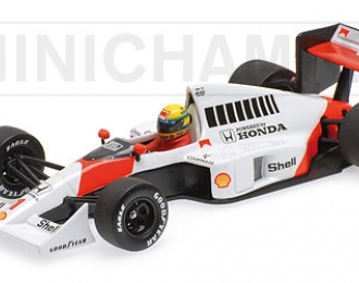 MCLAREN HONDA MP4-5 Ayrton Senna (1989), red / white