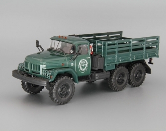 ЗИЛ 131 бортовой База снабжения, т.зелёный