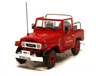 TOYOTA Land Cruiser BJ40, red