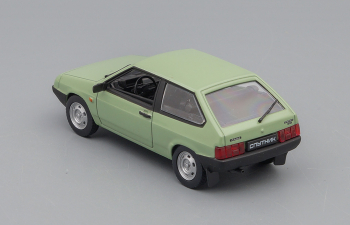 Волжский автомобиль 2108 Спутник, Автолегенды СССР 21, зеленый
