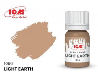 Краска для творчества, 12 мл, цвет Светлая Земля(Light Earth)