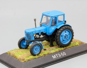 (Конверсия!) МТЗ 50 (1972), Тракторы 1, голубой