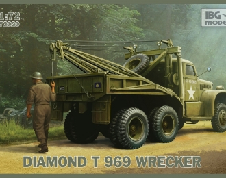Сборная модель Diamond T 969 Wrecker