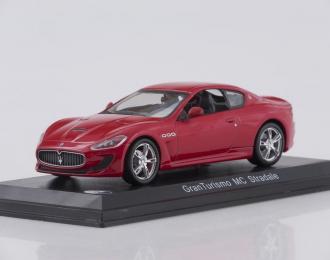 MASERATI Gran Turismo MC Stradale (2013), red