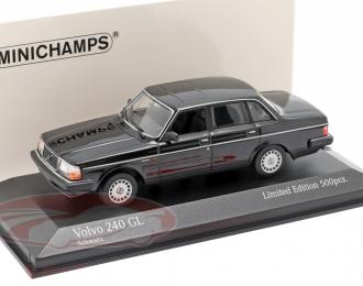 Volvo 240 GL 1986 черный