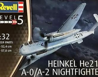 Сборная модель Немецкий ночной истребитель Heinkel He219 A-O