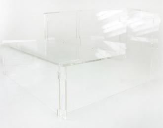 """Подставка под модели """"Лесенка"""", прозрачная 27см"""