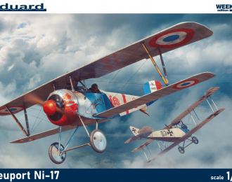 Сборная модель Самолет Nieuport Ni-17