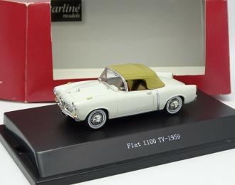 FIAT 1100 TV 1959, white