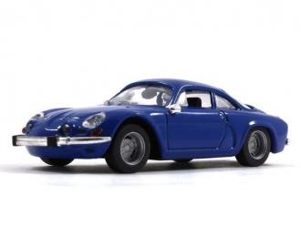 RENAULT Alpine A110, Legendarne Samochody 19, голубой