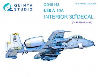 3D Декаль интерьера кабины A-10A (для модели HobbyBoss)