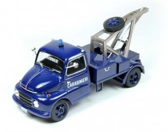 FIAT 615 Carabinieri, Полицейские Машины Мира 65, синий