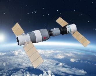 Сборная модель Космическая станция  Chinese Spaceship No.10