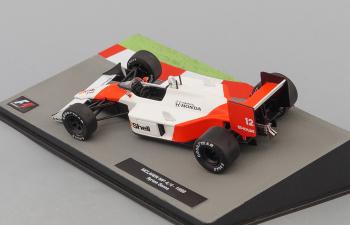 McLaren MP4/4 1988 as driven by Ayrton Senna, Formula 1 Auto Collection 1