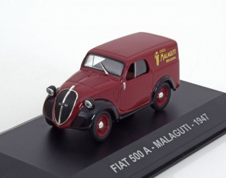 """FIAT 500A """"MALAGUTI"""" (1947), maroon"""