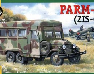 Сборная модель Ремонтная мастерская ПАРМ-1 (на шасси ЗиС-6)