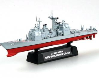 USS CG-49 VIincenns Cruiser