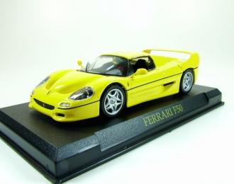 FERRARI F50 Hardtop, Ferrari Collection 12, yellow
