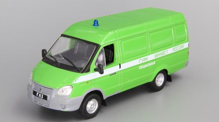 Горький 2705 ФСИН фургон, Автомобиль на службе 41, зеленый