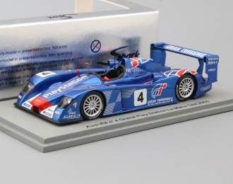 Audi R8 Oreca Play Station Test Car Le Mans 24h 2005 #4 from Japan