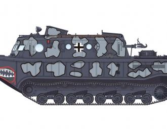 Сборная модель Амфибия German Land-Wasser-Schlepper (LWS) Medium production