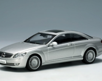 MERCEDES-BENZ CL 500 2006, silver