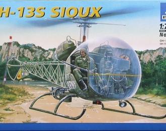 Сборная модель Американский легкий разведывательный вертолет Bell OH-13S Sioux