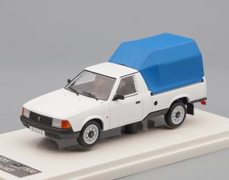 МОСКВИЧ 2335 Пикап с тентом (1994), белый / синий