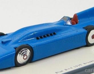 BLUEBIRD Brooklands Presention Car (1935), blue
