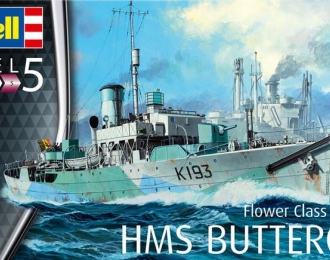 Сборная модель Британский корвет HMS Buttercup (тип «Flower»)