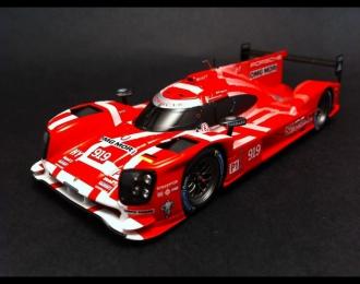 PORSCHE 919 Hybrid #919 Le Mans 2015 red