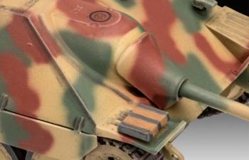 Сборная модель Немецкий истребитель танков Jagdpanzer 38 T