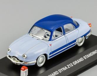 PANHARD Dyna Z12 Grand Standing 1957, 2 tone blue
