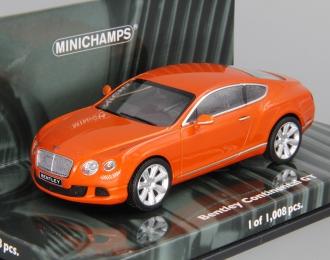 BENTLEY Continental GT (2011), orange metallic