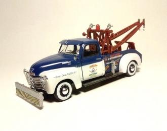 CHEVROLET 3100 Pick Up эвакуатор (откр.двери), бело-голубой