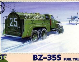 Сборная модель Бензозаправщик БЗ-35С