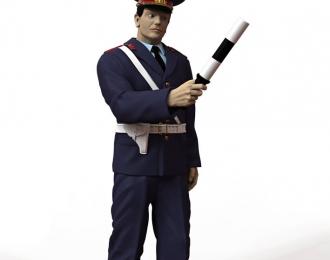Сборная модель Фигура Инспектор ГАИ №1, комплект 2 шт.