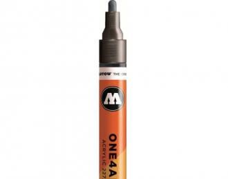 Маркер MOLOTOW 227HS METALLIC 223 Черный 4мм