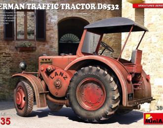 Сборная модель Немецкий дорожный трактор D8532