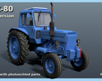 Сборная модель Трактор МТЗ-80 Беларусь