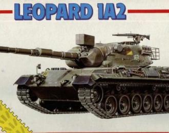 Сборная модель танк Leopard 1A2