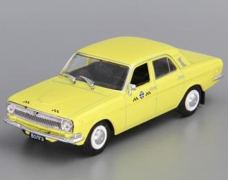 Горький 24-01 Такси, Автомобиль на службе 30, желтый