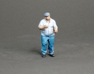 Фигура Мужчина стоит (масштаб 1:24) Вариант 12, окрашенная