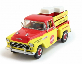 CHEVROLET Pick-Up Truck Coca-Cola (1957), yellow / red