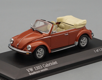 VOLKSWAGEN 1303 Cabriolet 1972-80, brown metallic